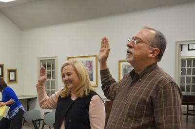 Re-elected Grayson council members sworn in