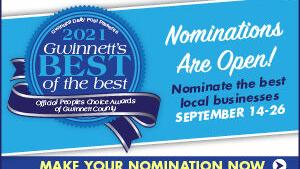 Nominate for Gwinnett County Best of the Best