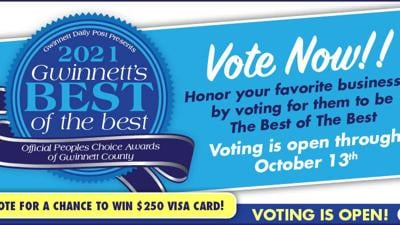 Vote for Gwinnett County's Best of the Best