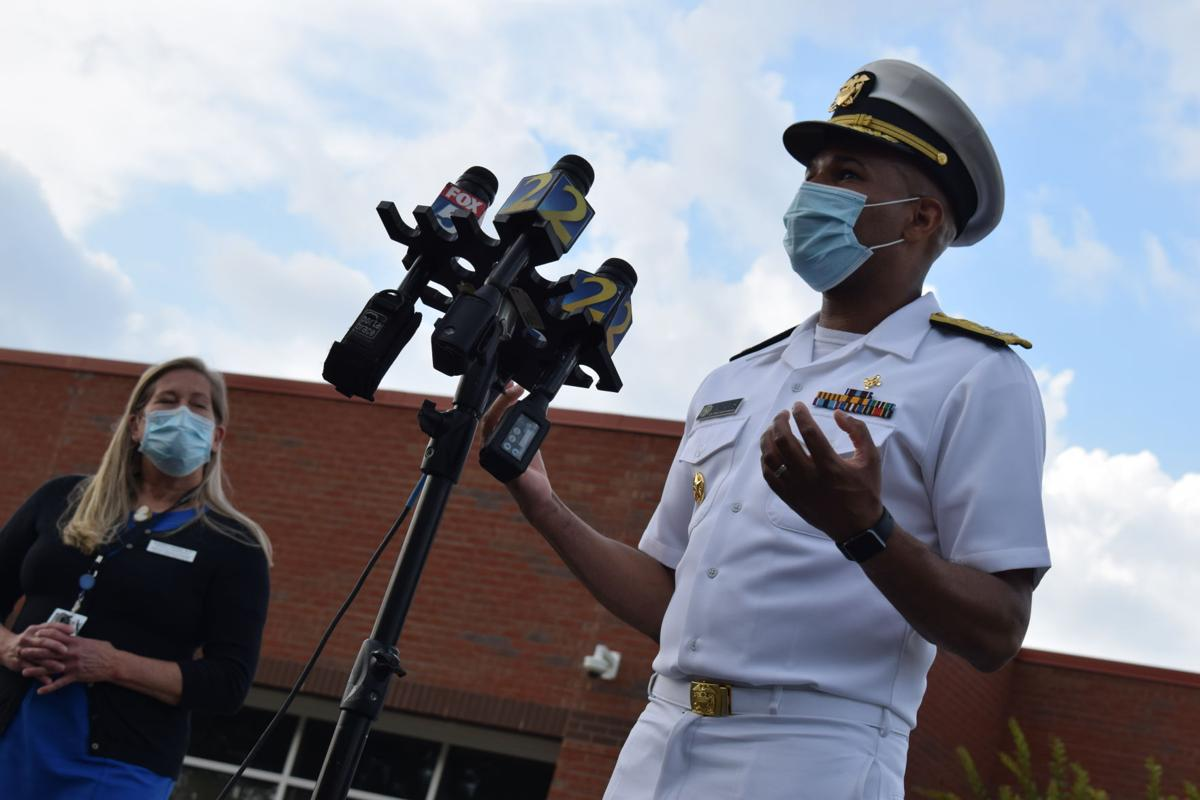 Surgeon General Dr. Jerome Adams visit to Gwinnett