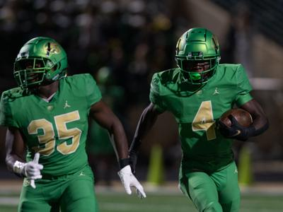 Buford debuts new green helmets in rout of Lanier