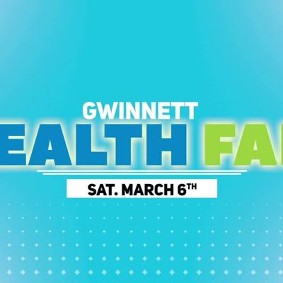 Gwinnett Health Fair 2021 @ George Pierce Park in Suwanne - March 6th