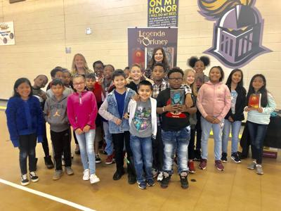 Renown literacy advocate, author makes stops at Gwinnett schools