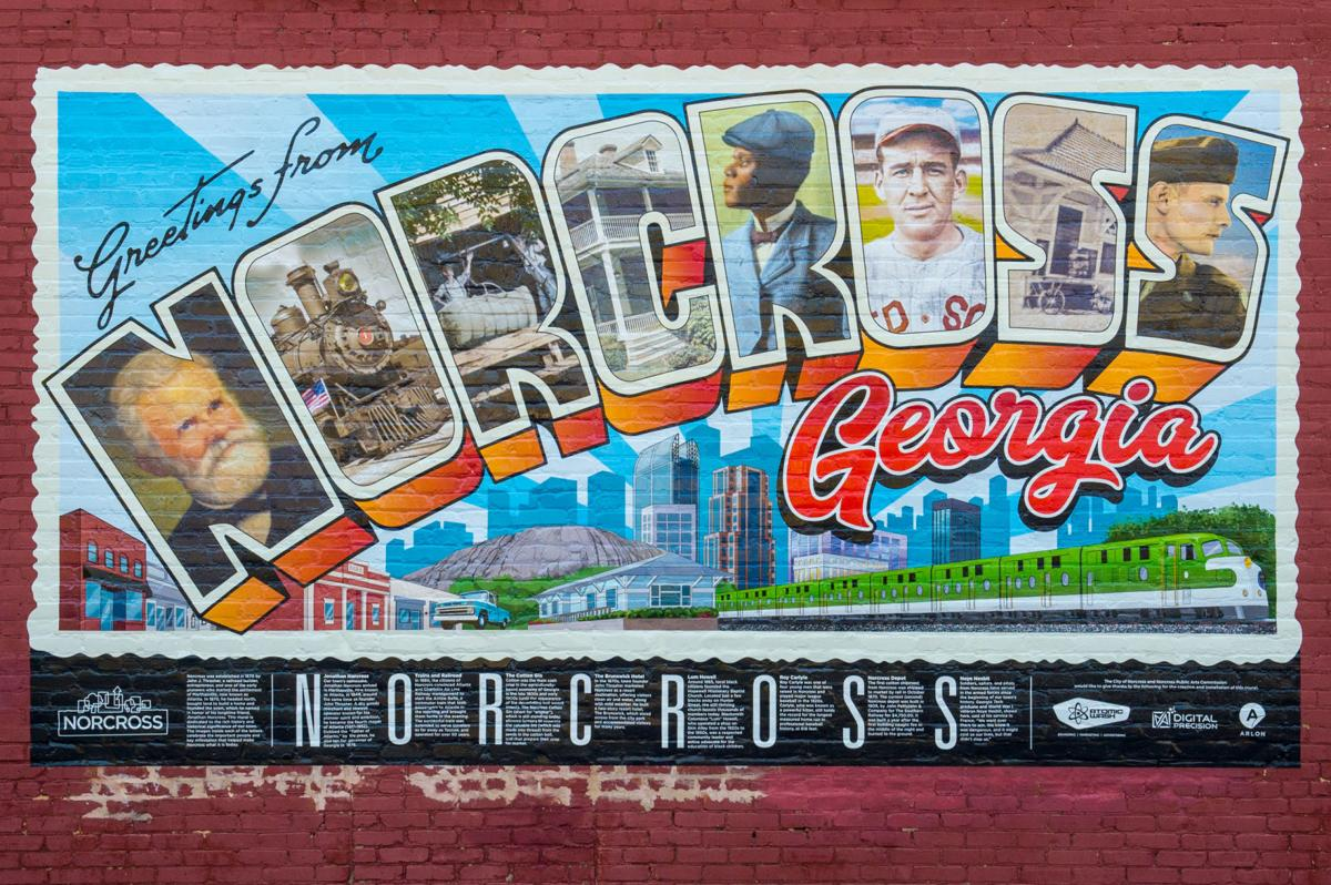 Norcross mural