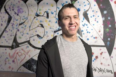Georgia Swarm's Lyle Thompson showcases passion at art show