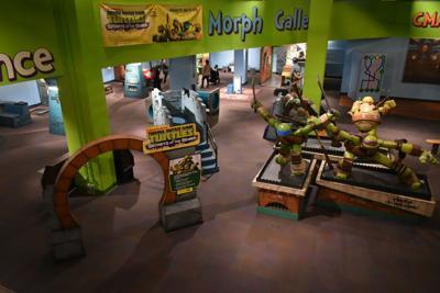 Mutant Ninja Turtles at Children's Museum of Atlanta exhibit