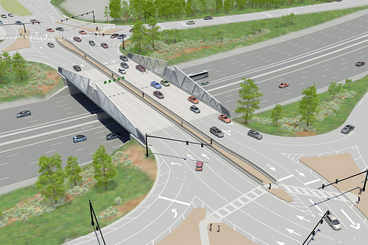 Repair work interchanges at the intersection of the Moscow Ring Road and Ryazan Avenue will be held on a competitive basis until September 93