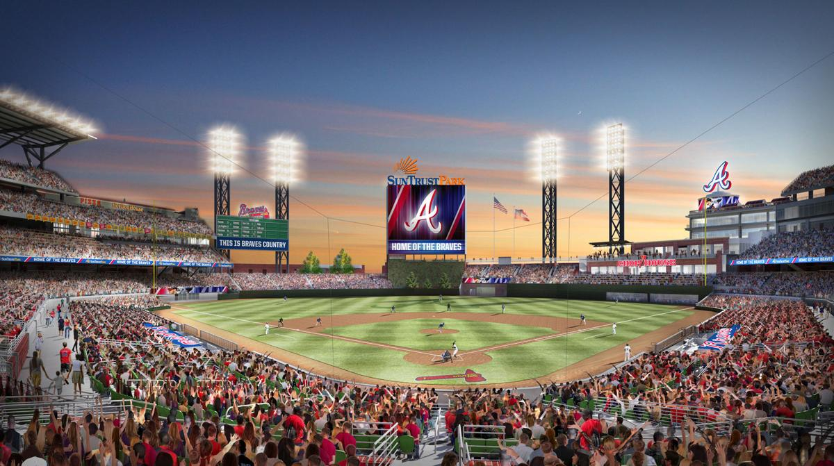 The Atlanta Braves New Stadium Will Be SunTrust Park