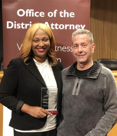 Gwinnett District Attorney honors local victim's rights advocate with award