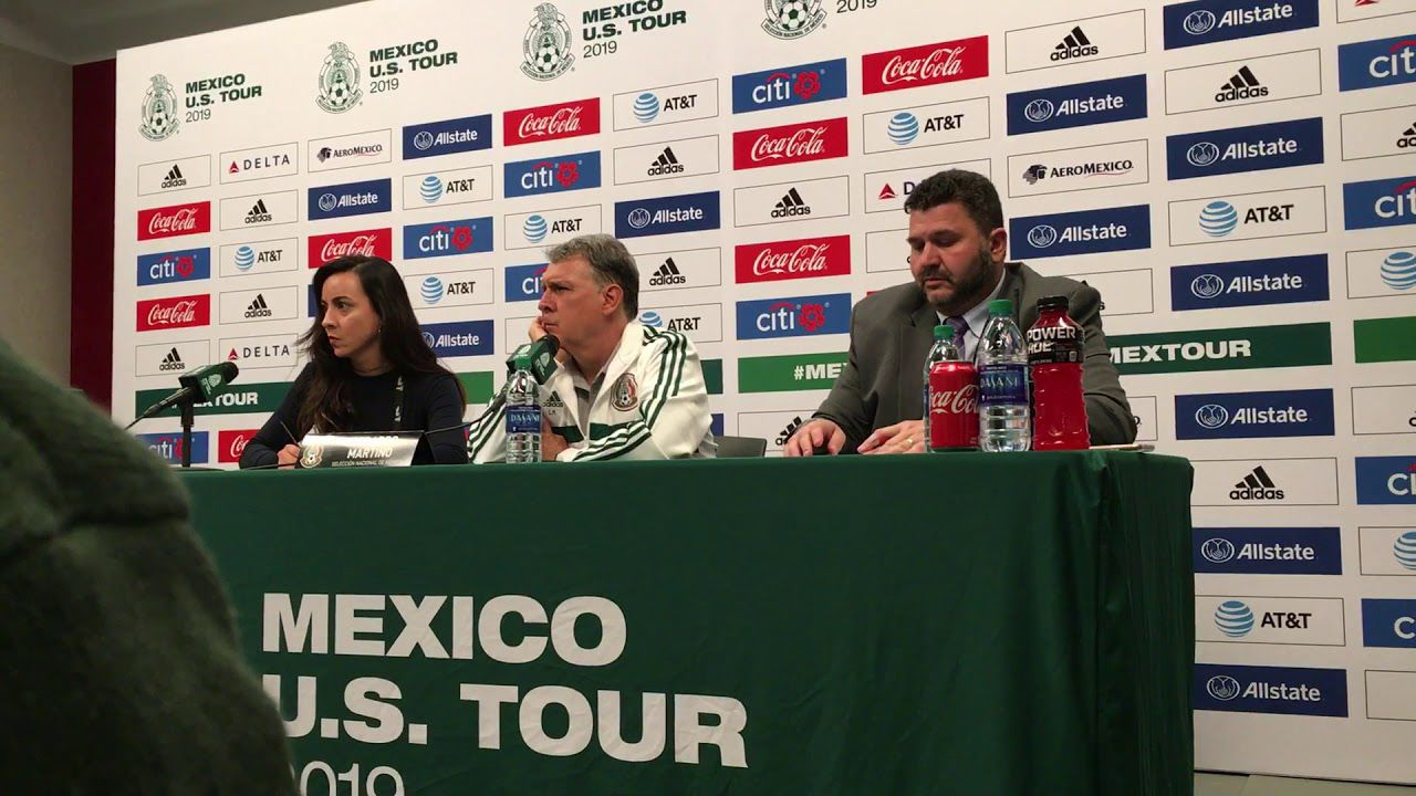 WATCH: Mexican NT coach Tata Martino press conference (06/05/19)