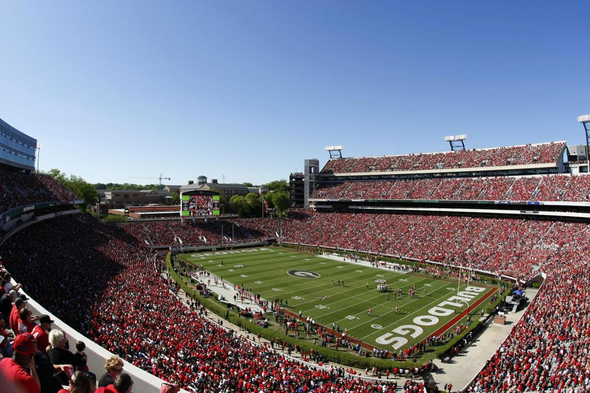 PHOTOS: The Top 10 College Football stadiums with the ...