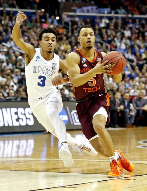 Ncaa Basketball Ncaa Tournament East Regional Virginia Tech Vs Duke Sportsxchange Gwinnettdailypost Com