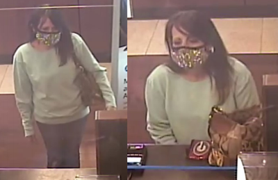 Duluth bank theft suspect