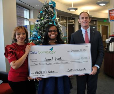 Discovery senior receives scholarship from Delta Credit Union, KISS 104