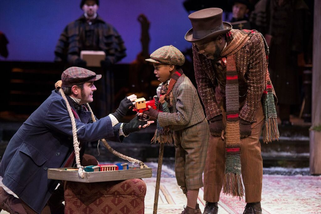 alliance theatres annual holiday show a christmas carol returns