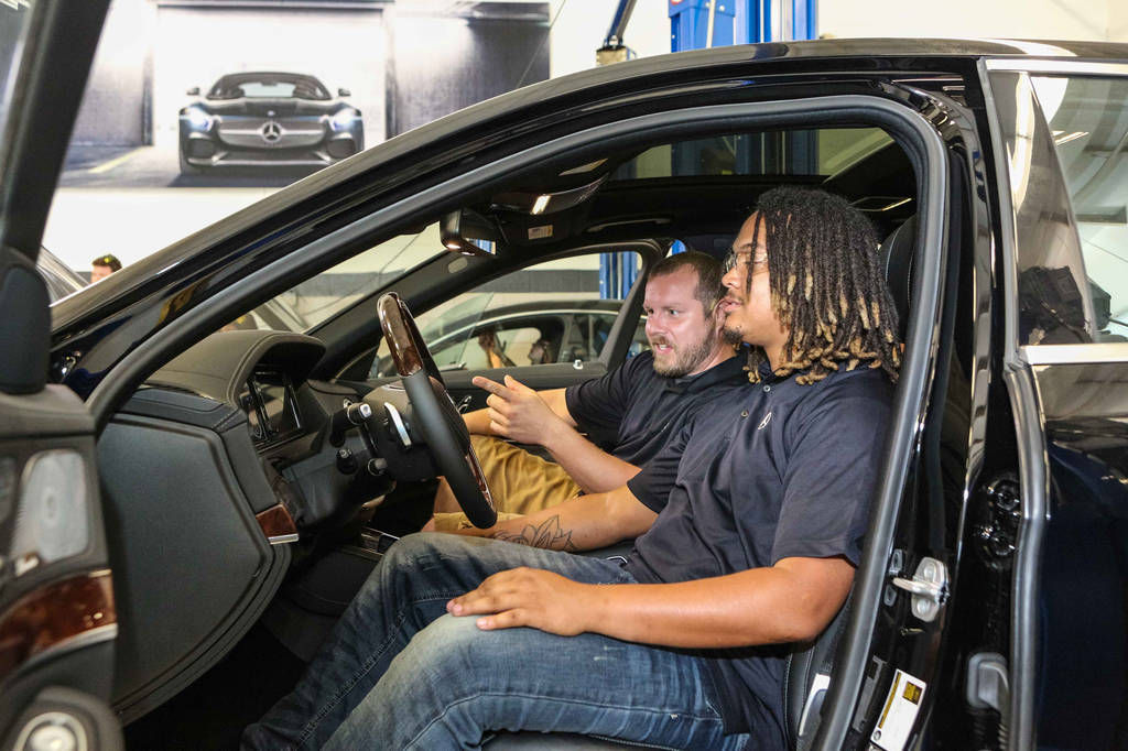 New gwinnett technical college program to turn students for Mercedes benz of gwinnett