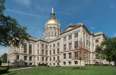 Georgia State Capitol, Atlanta, West view