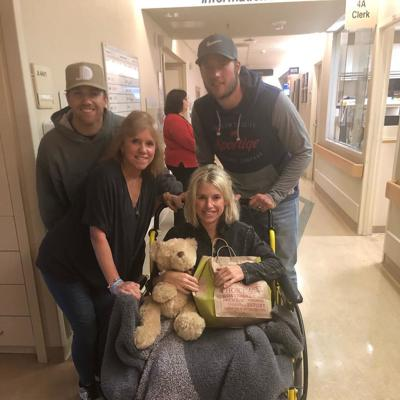 Wesleyan grad Kelly Stafford home after surgery to remove brain tumor