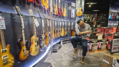 Guitar Center is filing for bankruptcy