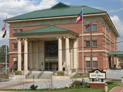 Lawrenceville City Hall File Photo