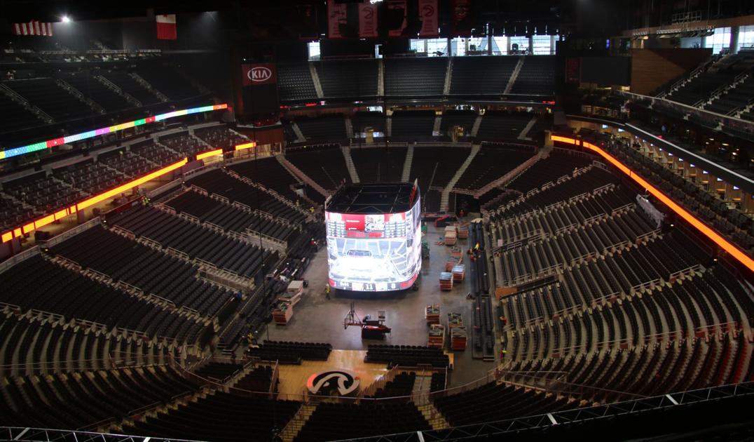 Photos Renovations To Atlanta Hawks All New State Farm Arena Slideshows Gwinnettdailypost Com