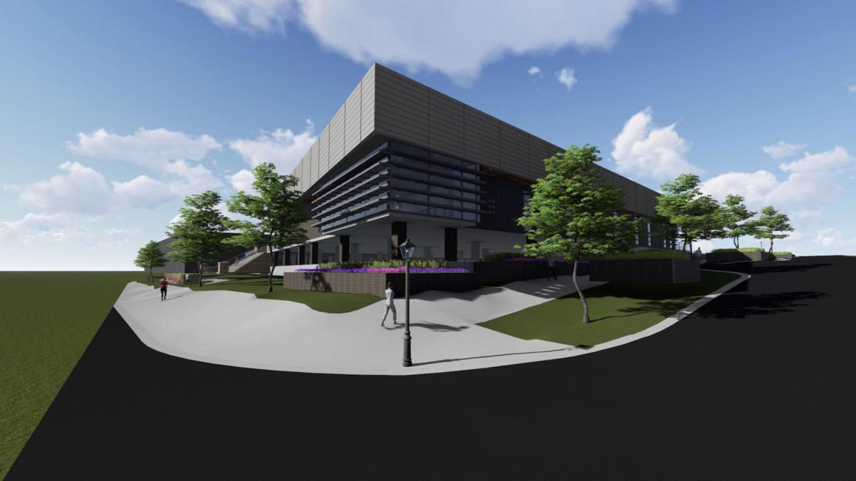 Norcross city council approves design for new library for House exterior design photo library