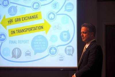 Commissioners debate transit during Gr8 Exchange presentation