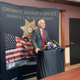 VIDEO: Gwinnett Sheriff Butch Conway explains his decision to not seek re-election