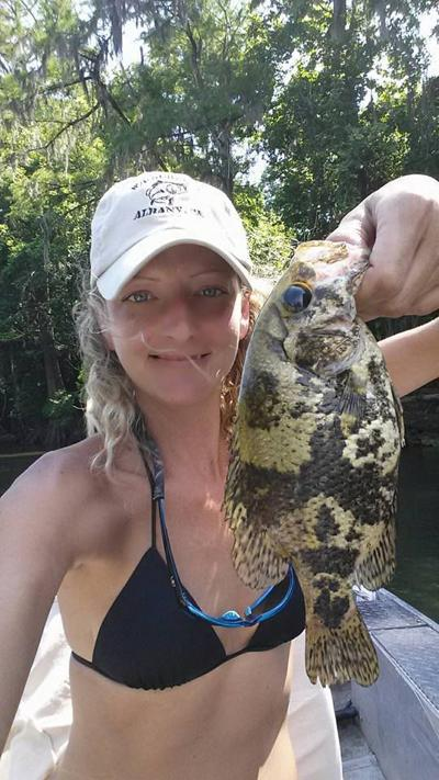 Angler sets state shadow bass record