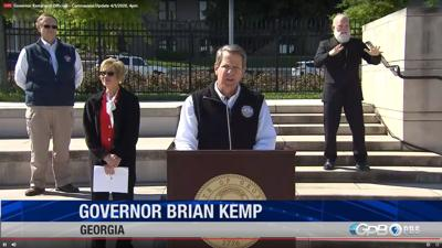 Gov. Brian Kemp will issue shelter in place order, closing schools for the remainder of academic year