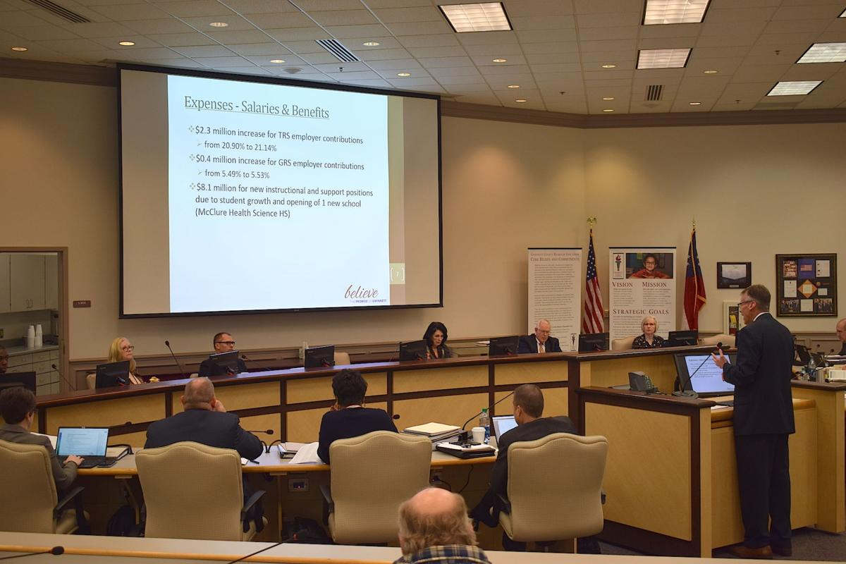 GCPS' $2 31B proposed 2020 budget includes employee raises