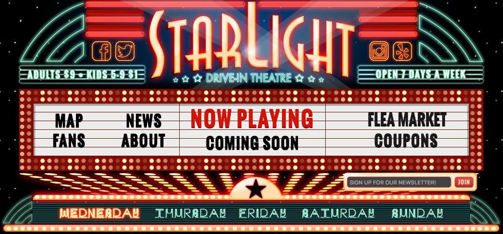 Starlight Drive-In Theater