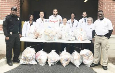 Drug take back event yields 243 pounds of unwanted prescription drugs in Snellville