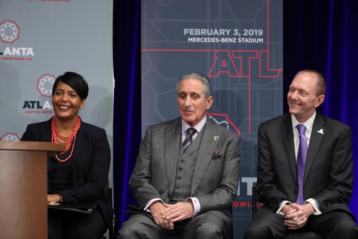 NFL: Super Bowl LIII-Atlanta Host Committee Press Conference