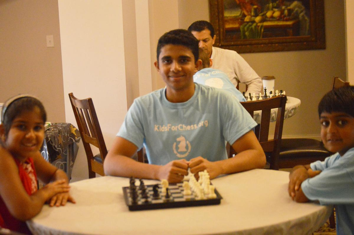 GOOD NEWS FROM SCHOOLS: GSMST student holds chess camp