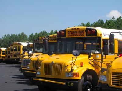 GCPS school buses