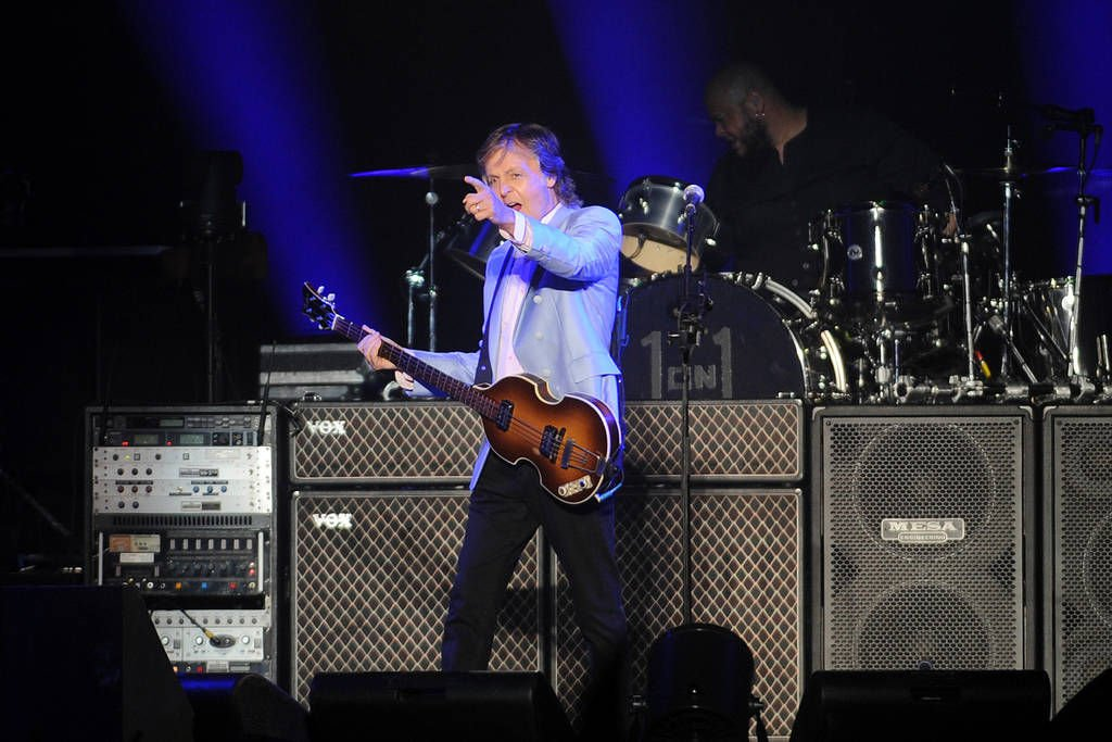 McCartney rocks Infinite Energy Arena