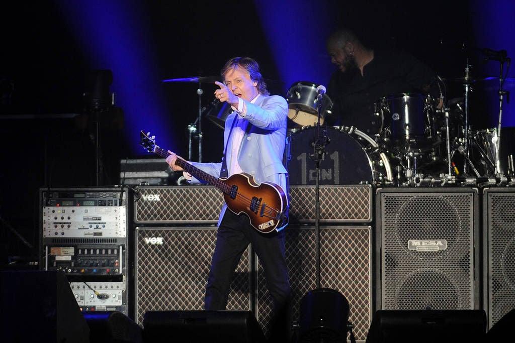 McCartney rocks Infinite Energy Arena