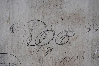 Decades-old graffiti reveals hidden stories in Historic Courthouse