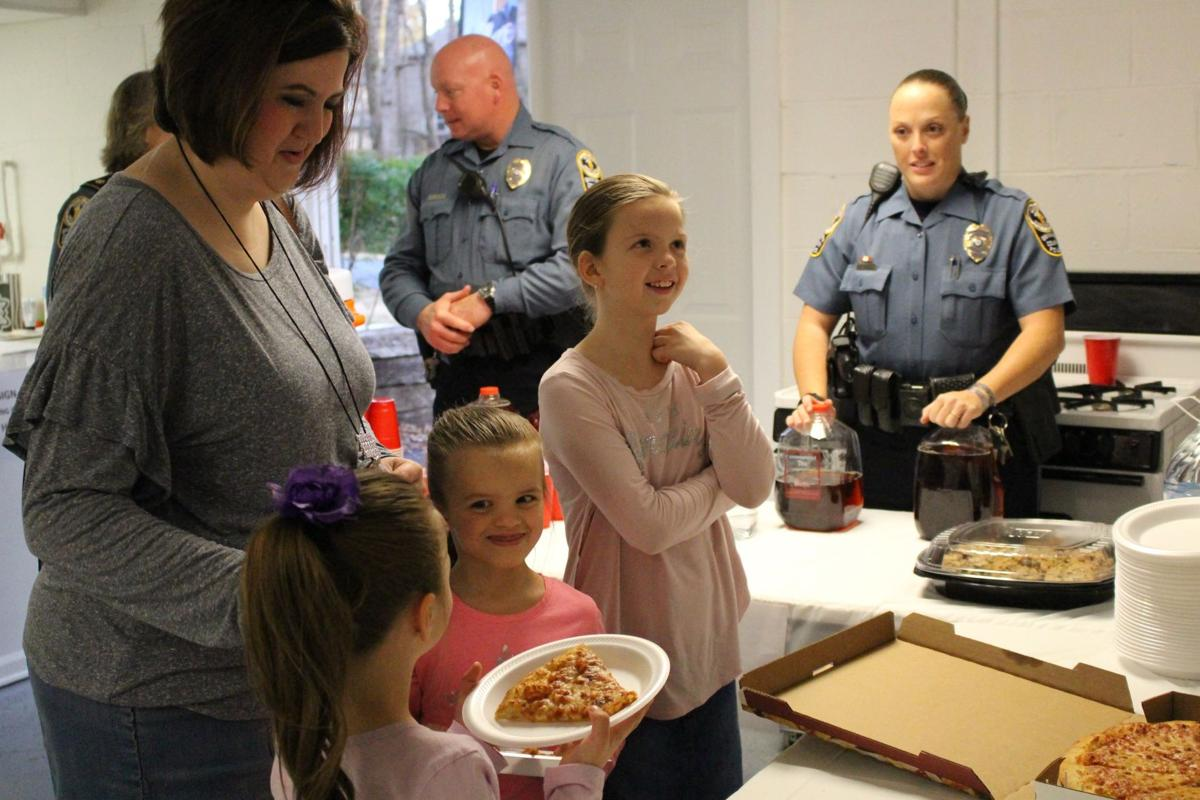 Gwinnett County Police Department's inaugural Pizza with Police a success