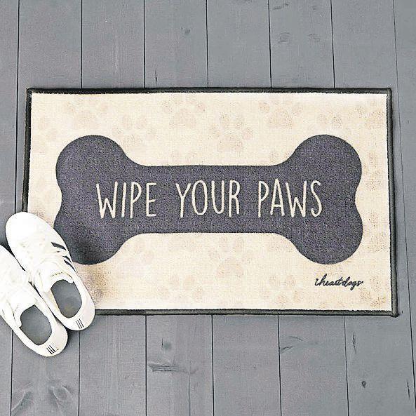 Wipe Your Paws Decorative Floor Mat