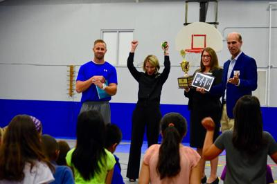 Suwanee Elementary School raises most Jump Rope for Heart money second year running