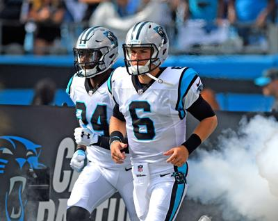 Panthers Bring Back Collins Hill Grad Backup Qb Taylor Heinicke On 1 Year Deal Sports Gwinnettdailypost Com