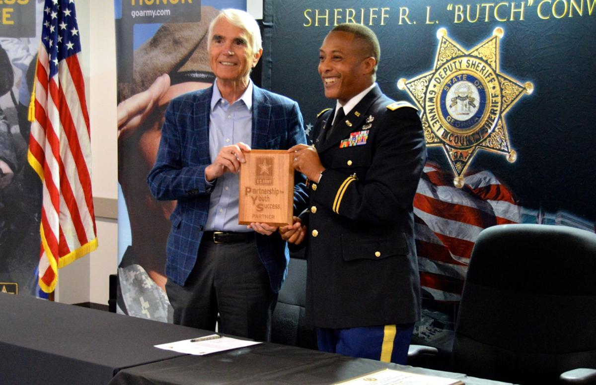 Gwinnett County Sheriff's Office partners with Army to offer