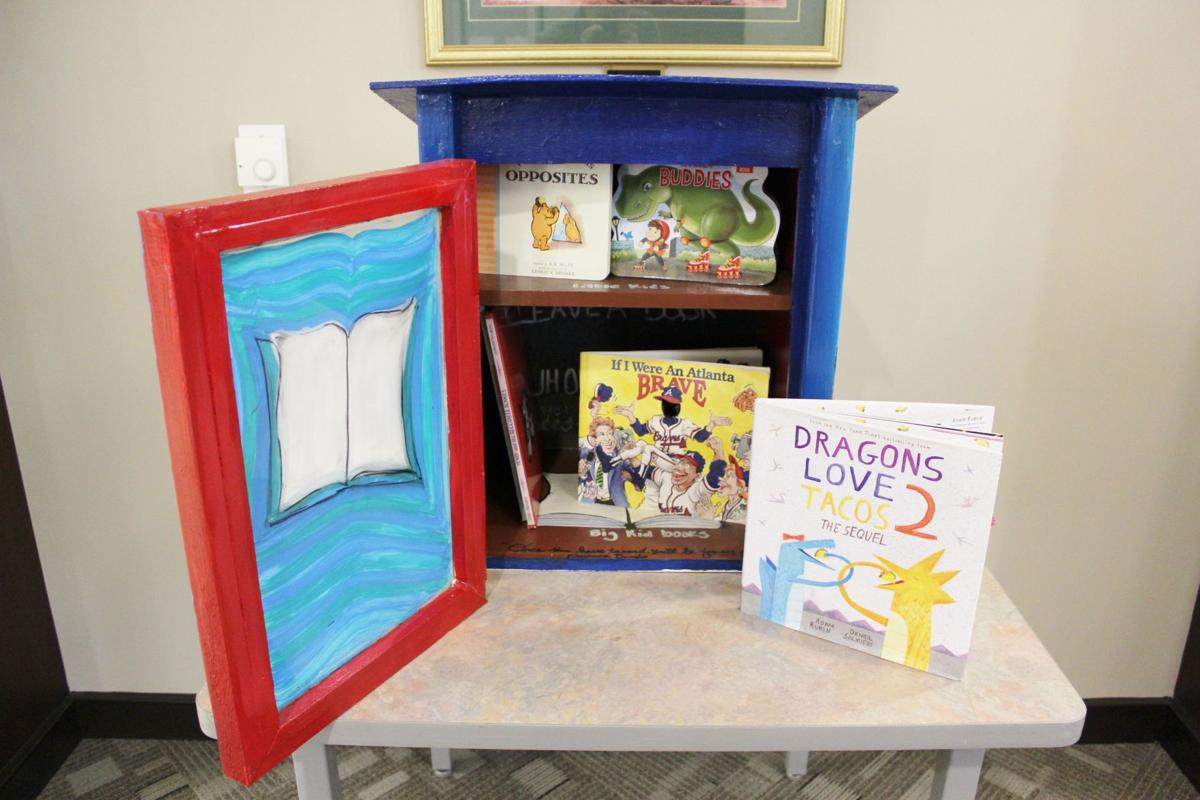 G.R.E.A.T. Little Minds Book Exchange at Snellville Police Department May 2020