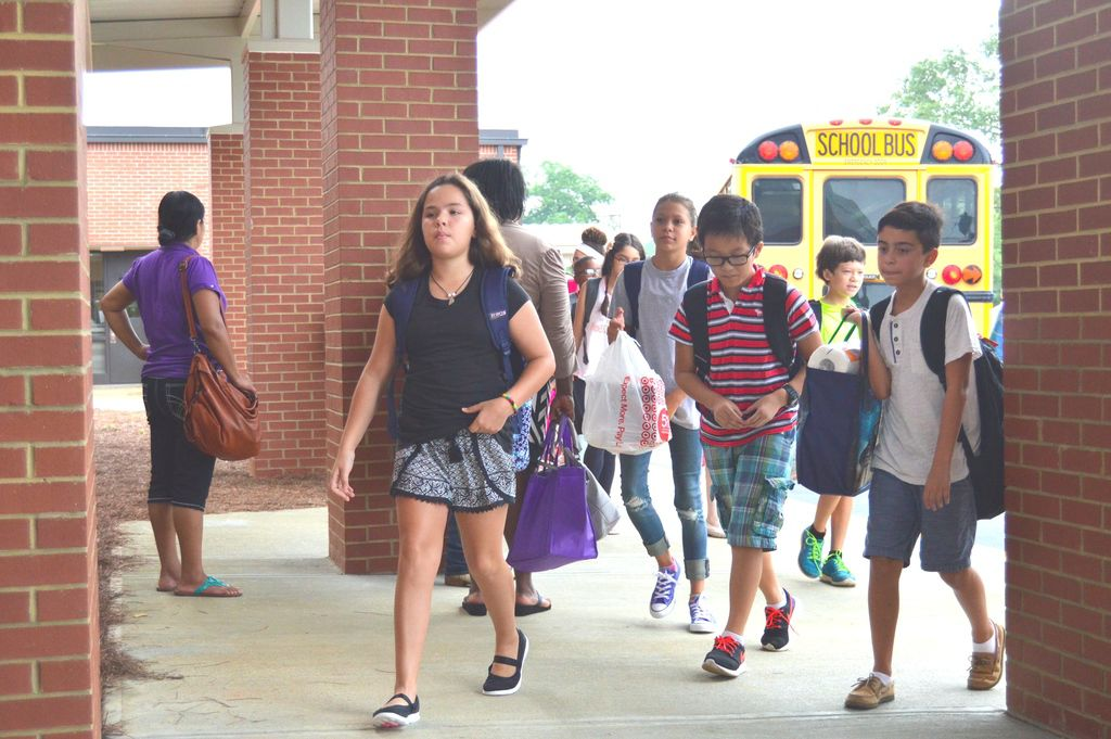 Coleman Middle opens with energetic message from namesake