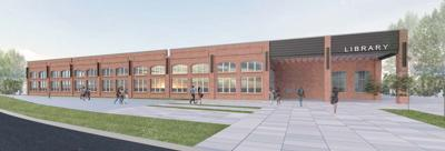 Duluth Library rendering
