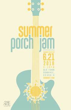 Suwanee's Summer Porch Jam features music-making events