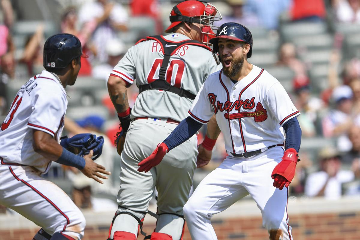 atlanta braves clinch nl east with victory against phillies sports