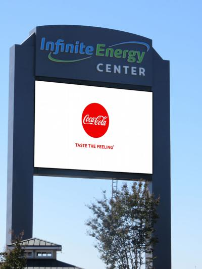 Coke named Infinite Energy Center's exclusive non-alcoholic drink provider